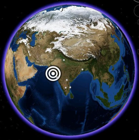 Map of Planet